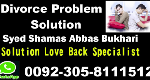 Divorce Problem Salution