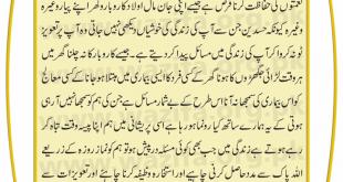Hifazat Ka Taweez